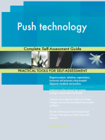 Push technology Complete Self-Assessment Guide