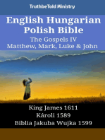 English Hungarian Polish Bible - The Gospels IV - Matthew, Mark, Luke & John