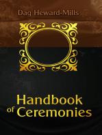 Handbook Of Ceremonies