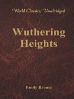 Wuthering Heights (World Classics, Unabridged)