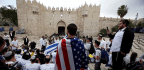 Celebration in Jerusalem, Bloodshed in Gaza
