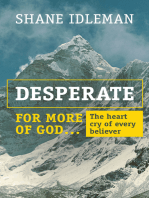 Desperate for More of God