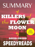 Summary of Killers of the Flower Moon by David Grann