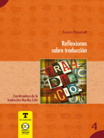 Reflexiones sobre traducción