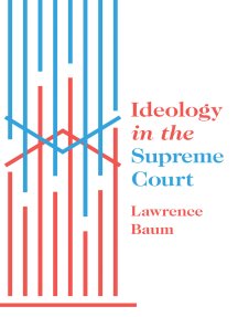 Ideology in the Supreme Court