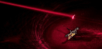 Tiny Robotic Fly Gets Power From Laser Beam