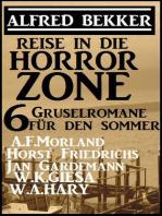 Reise in die Horror-Zone - 6 Gruselromane für den Sommer
