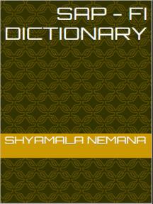 SAP - FI Dictionary