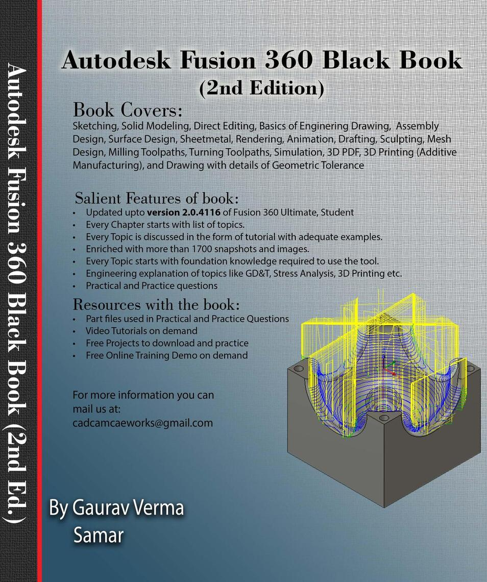 Autodesk Fusion 360 Black Book (2nd Edition) - Part 2 by Gaurav Verma -  Book - Read Online