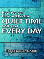 How You Can Have An Effective Quiet Time With God Every Day