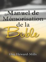 Manuel de mémorisation de la Bible