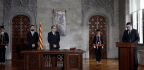In Catalonia, A Secessionist Takes Office And A Standoff Continues