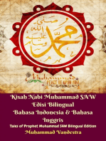 Kisah Nabi Muhammad SAW Edisi Bilingual Bahasa Indonesia & Bahasa Inggris (Tales of Prophet Muhammad SAW Bilingual Edition)