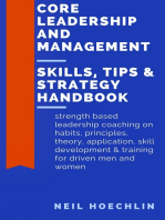 Core Leadership and Management Skills, Tips & Strategy Handbook