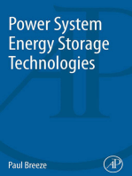 Power System Energy Storage Technologies