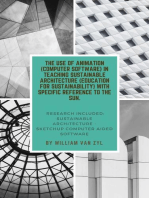 The Implementation of Animation (Computer Software) in Teaching Sustainable Architecture (Education for Sustainability) with Specific Reference to the Sun.