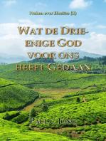 Preken over Efeziërs (II) ; Wat de Drie-enige God voor ons heeft Gedaan