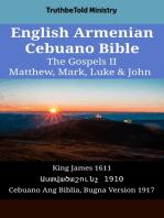 English Armenian Cebuano Bible - The Gospels II - Matthew, Mark, Luke & John