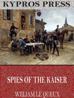 Spies of the Kaiser