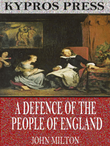 A Defence of the People of England