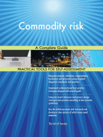 Commodity risk A Complete Guide