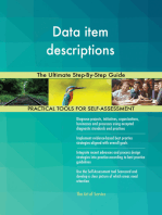 Data item descriptions The Ultimate Step-By-Step Guide