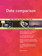 Data comparison The Ultimate Step-By-Step Guide