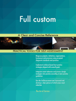 Full custom A Clear and Concise Reference