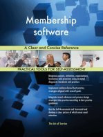 Membership software A Clear and Concise Reference