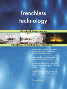 Trenchless technology Standard Requirements