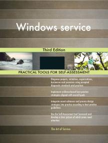 Windows service Third Edition