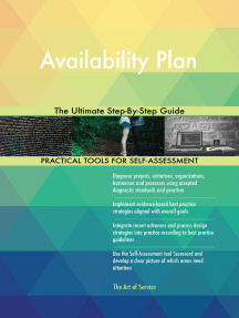 Availability Plan The Ultimate Step-By-Step Guide