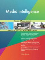 Media intelligence Standard Requirements