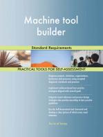 Machine tool builder Standard Requirements