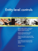 Entity-level controls Standard Requirements