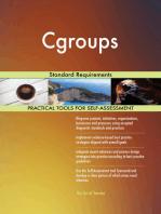 Cgroups Standard Requirements