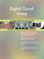 Digital Out-of-Home Complete Self-Assessment Guide