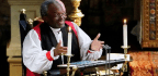 A Black Bishop Brings a Political Message to the Royal Wedding