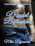 Model Behavior (Watchdogs, Inc., Book 3)