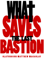 What Saves
