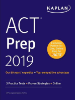 ACT Prep 2019
