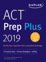 ACT Prep Plus 2019