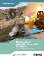 Biodiversidad y propiedad intelectual en disputa: Situación, propuestas y políticas públicas