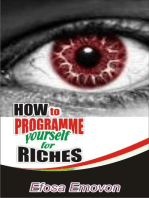 How to Programme Yourself for Riches