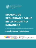 Manual de seguridad y salud en la industria bananera
