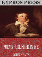 Poems Published in 1820