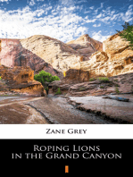 Roping Lions in the Grand Canyon