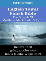English Tamil Polish Bible - The Gospels VI - Matthew, Mark, Luke & John