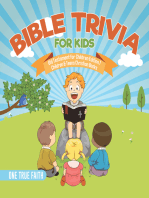 Bible Trivia for Kids | Old Testament for Children Edition 1 | Children & Teens Christian Books