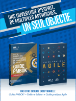 A Guide to the Project Management Body of Knowledge (PMBOK(R) Guide-Sixth Edition / Agile Practice Guide Bundle (FRENCH)